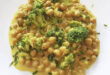 garbanzos con salsa de curry