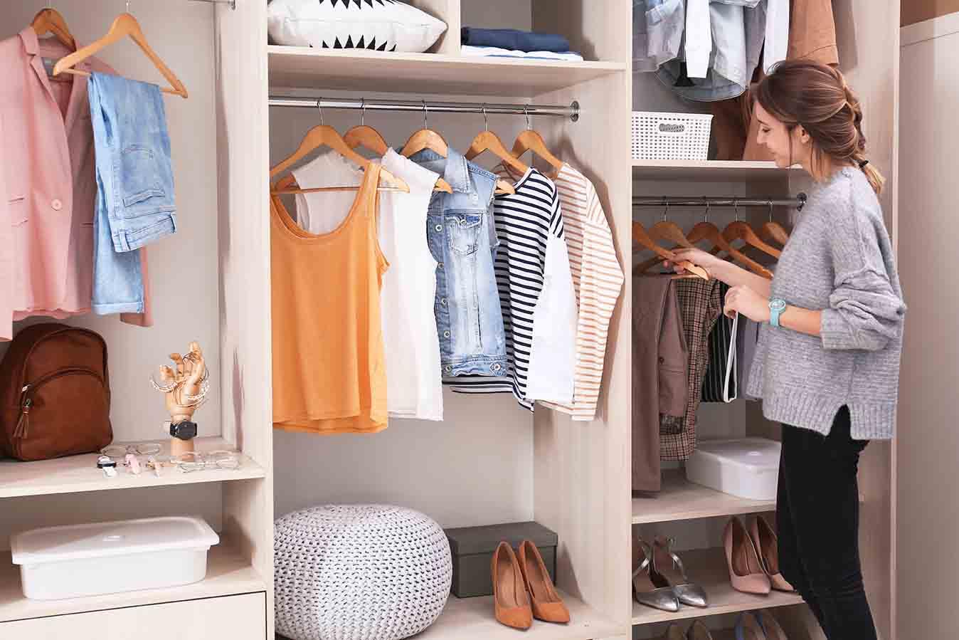 trucos para ordenar tu armario